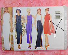 RARE 1997 Vintage Butterick 4881 Dress 4 looks Sewing Pattern Size 6-10 UNCUT