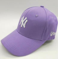 MLB New Era New York Yankees NY Fitted size 57cm Baseball Caps Hats Purple