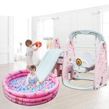 Toboggan Aire de jeux Balançoire for Enfants Extérieur Intérieur Baby Vivo