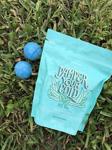NEW Perfectly Posh Bath Bomb Pamper Your Cold Menthol Eucalyptus Camphor 6 Pack