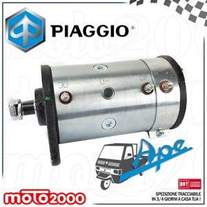 DINAMOTORE COMPLETO PER PIAGGIO APE TM CAR P2 P3 P501 P601 P703 FL2 RIF 157715