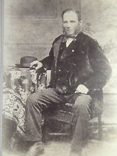 1800s Victorian Cabinet Card Photograph from Washington DC