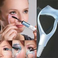 3 in 1 Makeup Eye Lash Brush Mascara Curler Wimpern Schminkhilfe Wimpernkamm