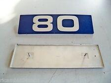 AUTOCARRO IVECO 80 - SCRITTA IN ALLUMINIO LOGO BADGE