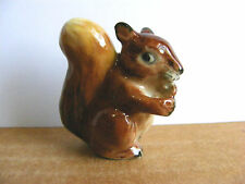 Klima Red Squirrel With Nut Miniature Animal Figurine Support Wildlife Rehab