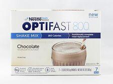 NEW FORMULA | OPTIFAST® 800 POWDER SHAKES | CHOCOLATE | 1 CASE | 84 SERVINGS