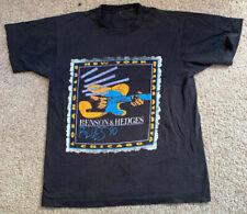 Vintage 1990 Benson & Hedges Blues Festival Single Stitch Black Graphic T-shirt