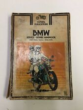 BMW Motorcycle Clymer Service Repair Book 500-900 cc Twins '55-'75 #62617b