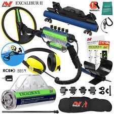 Minelab Excalibur II 1000 Metal Detector with Alkaline Pack, Hipmount Kit & Bag