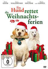 Ein Hund rettet die Weihnachtsferien 1 DVD Weihnachten Familienfilm Film NEU