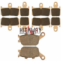 Front Rear Brake Pads for YAMAHA STREET BIKES YZF-R1 YZF R1 2007-2014 Sintered