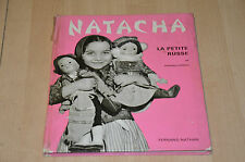livre NATACHA la petite russe - collection enfants du monde Fernand Nathan