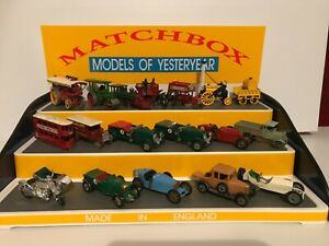 Matchbox Model of Yesteryear, 3 Step Display Stand.