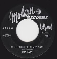 ETTA JAMES - BY THE LIGHT OF SILVERY MOON b/w COME WHAT MAY- MODERN (Strong VG+)