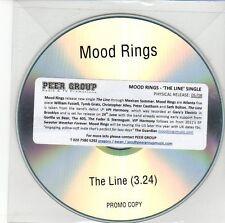 (EB885) Mood Rings, The Line - DJ CD