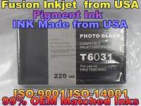 NEW Compatible Cartridge Epson Stylus Pro 7880 9880 220ml T603100 photo black