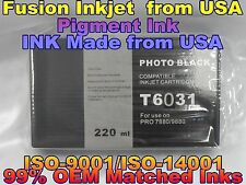 Compatible Cartridge Epson Stylus Pro 7880 9880 T603100 photo black phk ink tank