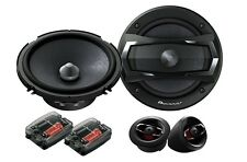 NEW PIONEER 2-WAY COMPONENT SET CAR STEREO AUDIO PAIR FRONT OR REAR SPEAKERS
