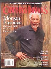 COWBOYS & INDIANS  Morgan Freeman  January 2010