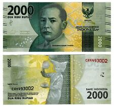 2016 Indonesia 2000 Rupiah Uncirculated One Note