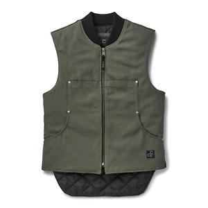 Filson CCF Work Vest Cannonball Green