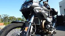 Moto Guzzi Stelvio 1200 2008- 2016 RadGuards Radiator Guard Protector Mesh Black
