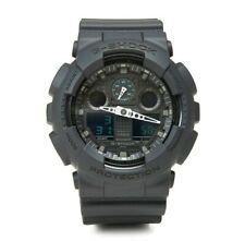 CASIO G-SHOCK GA-100MB-1AER Mens Military Black/Green Combi Watch GA100MB1AER