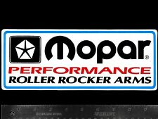 MOPAR Roller Rocker Arms - Original Vintage Racing Decal/Sticker DODGE Plymouth