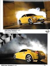 """Nissan 350Z Gran Turismo 3 voiture publicité/Press photo """"Brochure"""" plus CD 2005"""
