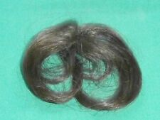 """doll wig/partcap/weaving brown circumference 2.5""""/ hairlength 4"""""""