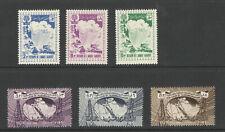 1960/1961 Saudi Arabia Two Sets Mnh*