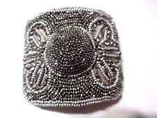 Made In France Antique Shoe Buckle Beaded Fancy Design Gorgeous Holfast