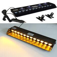 12LED Amber Emergency Warning Traffic Advisor Car Strobe LED Flashing  Light
