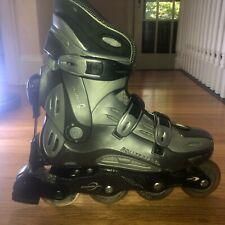 New listing Rollerblade Pro E Men 9 Inline Skate Fitness ABT2 80mm Carbon ABEC5 Vintage $300