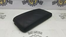 PEUGEOT 407 CENTER CONSOLE LEATHER BLACK ARMREST 9644587377 2004-2010