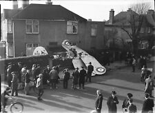 NEW 6 X 4 PHOTO WW2 GLOSTER GLADIATOR CRASHED IN SUSSEX 1
