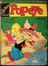 POPEYE - BD - POPEYE POCHE No 183 - CAP'TAIN - NOV 1977 - EDITIONS DE L'OCCIDENT