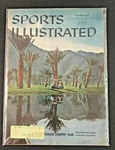 Vintage Sports Illustrated Magazine November 2nd 1959 EL Dorado Country Club ML