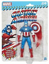 "Marvel Legends - CAPTAIN AMERICA - Retro Toy Biz HASBRO 6"" Action Figure MOC"