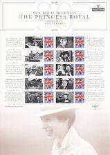 2017 - HRH The Princess Royal  - 30th Anniversary Smilers Sheet - CSS-034