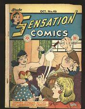 Sensation Comics # 46 - Wonder Woman G/VG Cond.