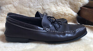 Tod's Men's Brown Leather Driving / Loafers - UK 11/ EUR - 45.5 Cost $899