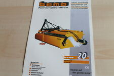 140454) Bema Kehrmaschinen Kehrwalze 520 Prospekt 04/2010