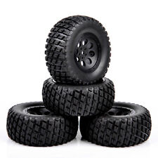 12mm hex C 1:10 Short Course Truck Tires 4PCS Set Wheel Rims For TRAXXAS SlASH
