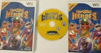 Hamster Heroes Nintendo Wii PAL complete with manual Excellent condition