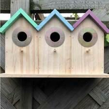 TRIPLE DELUXE TERRACED BIRD HOUSE