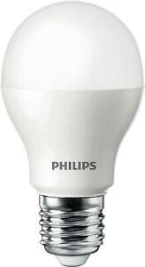 Philips 6.5w (=40w) LED GLS 6500k Tageslicht E27 Es Edison Crew Perle Opal 240v