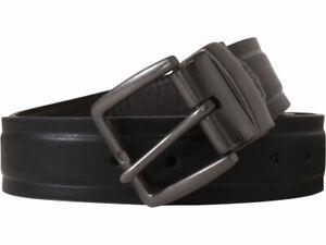 Levi's Men's Belt Reversible Metal Buckle Black/Brown Sz: XL (42-44) 11LV120Z01
