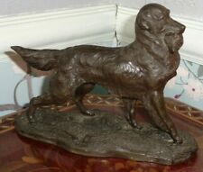 More details for vintage heredities figurine retriever with duck in mouth signed j spouse
