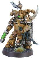 Warhammer 40K Chaos Space Marines Death Guard Plague Marine Champion